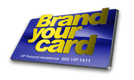 Brand your card
